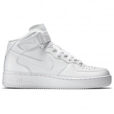 Nike Air Force 1 Mid '07 All White - Ikdienas apavi