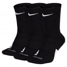 Nike Elite Crew Basketball Socks (3 Pack) - Zeķes
