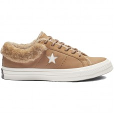 Converse One Star Street Warmer Leather Low Top - Converse apavi