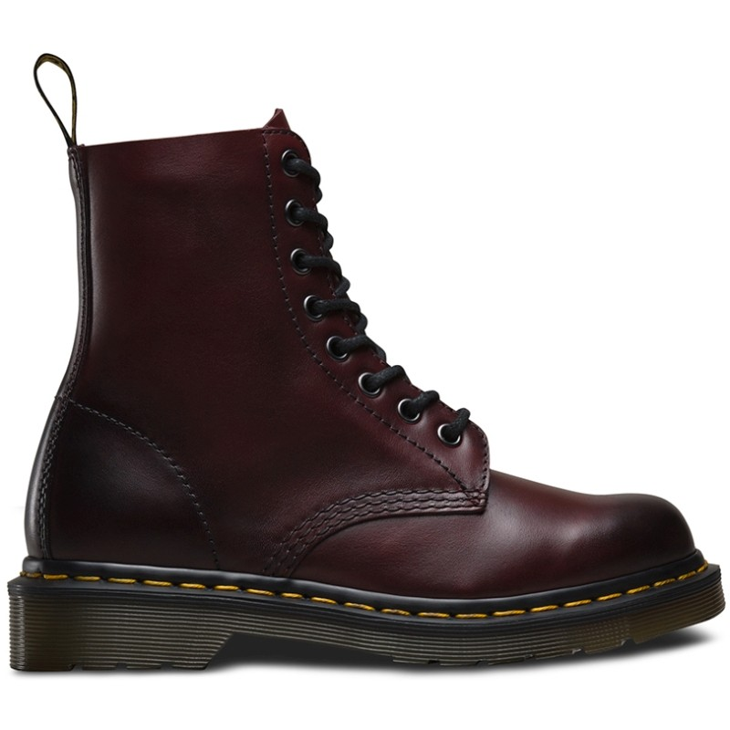 Dr. Martens 1460 Pascal Antique Temperley Cherry Red - Ziemas zābaki