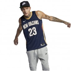 Nike NBA New Orleans Pelicans Anthony Davis Icon Edition Swingman Sleeveless Tee - T-krekls