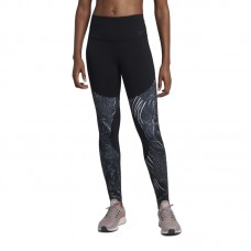 Nike Wmns Power Print Flutter Tights - Zeķubikses