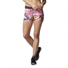 adidas WMNS Techfit 3 Inch Floral Shorts