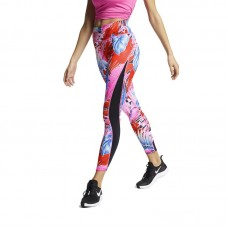 Nike Wmns One Printed 7/8 Training Tights - Zeķubikses