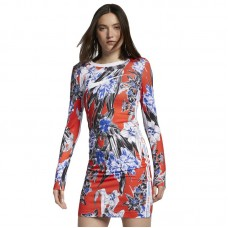 Nike Wmns Long Sleeve Printed Dress - Kleitas