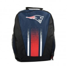 Forever Collectibles NFL New England Patriots Stripe Primetime Backpack