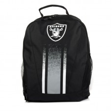 Forever Collectibles NFL Oakland Raiders Stripe Primetime Backpack