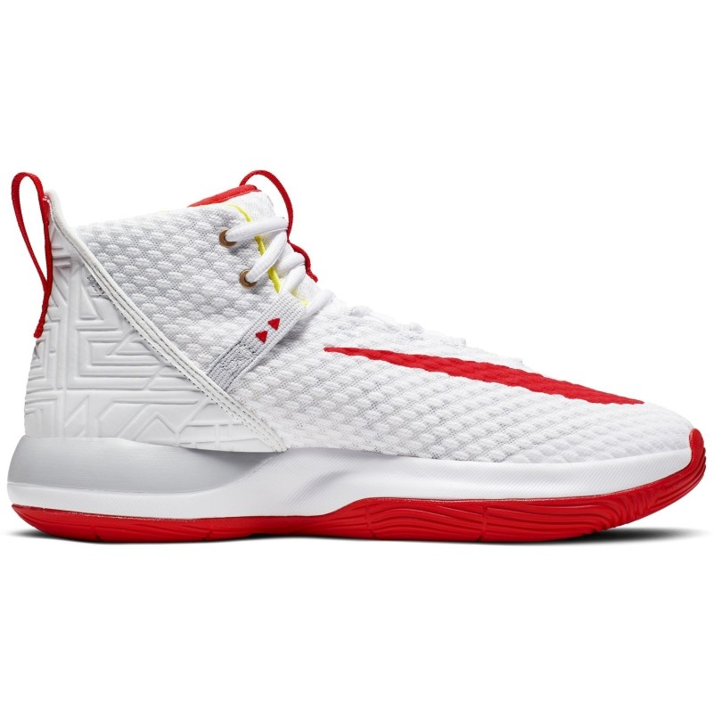 Nike Zoom Rize TB White Red - Basketbola apavi