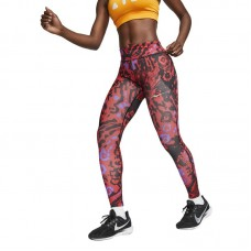 Nike Wmns Fast 7/8 Printed Running Tights - Zeķubikses