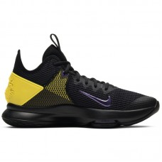 Nike LeBron Witness IV Black Voltage Purple - Basketbola apavi