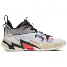 Air Jordan Why Not Zer0.3 Russell Westbrook White Bright Crimson Black - Basketbola apavi