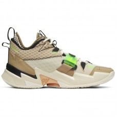 Jordan Why Not Zer0.3 Russell Westbrook Parachute Beige Rage Green - Basketbola apavi