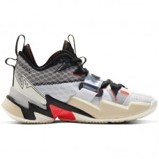 Air Jordan Why Not Zer0.3 GS Russell Westbrook White Bright Crimson Black - Basketbola apavi