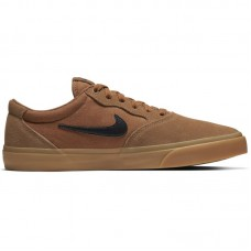 Nike SB Chron SLR Solarsoft Light British Tan Gum Light Brown Black - Brīvā laika apavi