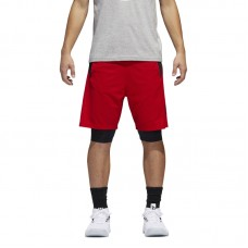 adidas Dame Dolla Two-in-One Shorts