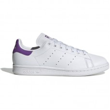 adidas Originals Wmns Stan Smith White Purple - Brīvā laika apavi