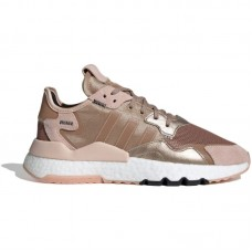 adidas Originals Wmns Nite Jogger Boost Rose Gold Metallic Vapour Pink