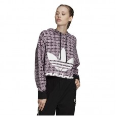 Adidas Originals Wmns Trefoil Allover Print Hoodie džemperis - Džemperi